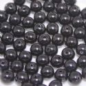 Beads, Acrylic, black, Spherical, Diameter 8mm, NA, 10g, 30 Beads, (SLZ0098)